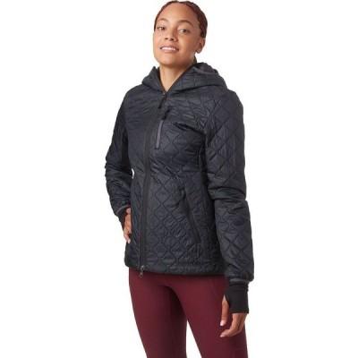 バックカントリー Backcountry レディース ジャケット フード アウター Hallett Insulated Hooded Jacket Black/Asphalt