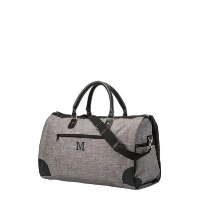 キャシーズ コンセプツ ボストンバッグ バッグ レディース Cathys Concepts Monogram Duffle/Garment Bag Grey M