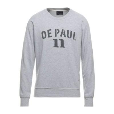 プラスピープル (+) PEOPLE メンズ スウェット・トレーナー トップス Sweatshirt Light grey