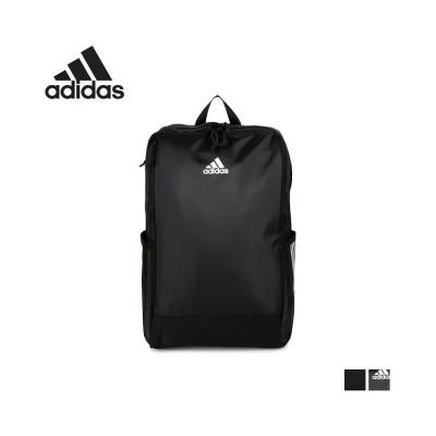 【スニークオンラインショップ】 アディダス adidas リュック バッグ バックパック メンズ レディース 30L スクエア ボックス 大容量 通勤 通学 撥水 ブラック 黒 67104 ユニセックス ブラック系1 ワンサイズ SNEAK ONLINE SHOP