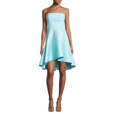 ハルストンヘリテージ レディース ワンピース Strapless Hi-Lo Dress