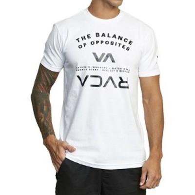 ルーカ メンズ Tシャツ トップス Balance Arc T-Shirt White