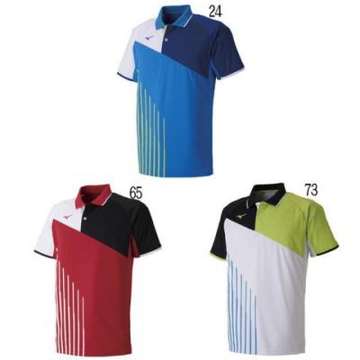 ミズノ ゲームシャツ 62JA9003 メンズ 2019SS バドミントン テニス ソフトテニス ゆうパケット(メール便)対応 2019最新 2019春夏