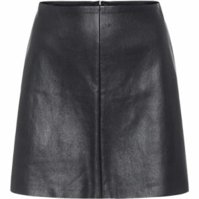 ストールス Stouls レディース ミニスカート スカート santa maria leather miniskirt Black