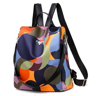 ファッション盗難防止女性バックパック有名なブランドの高品質防水オックスフォード女性のバックパック女性大容量のバックパック