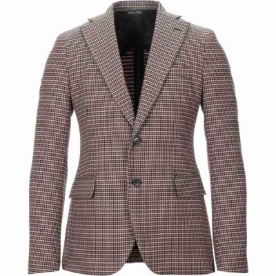 ブライアン デールズ BRIAN DALES メンズ スーツ・ジャケット アウター blazer Maroon