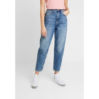 トミーヒルフィガー デニムパンツ レディース ボトムス MOM HIGH RISE TAPERED - Relaxed fit jeans - sunday mid