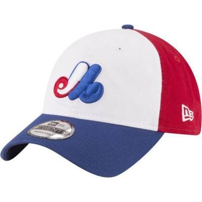 ニューエラ メンズ 帽子 アクセサリー New Era Men's Montreal Expos Red/White/Blue Cooperstown Core Classic 9Twenty Adjustable Hat