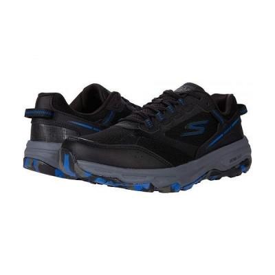 SKECHERS スケッチャーズ メンズ 男性用 シューズ 靴 スニーカー 運動靴 Go Run Trail Altitude - Marble - Black/Blue