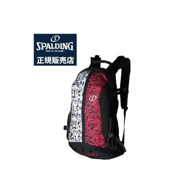 【正規販売店】スポルディング バスケットボール用バック CAGER バックパック ケイジャー グラフィティレッド 40-007GR リュック
