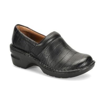 ビーオーシー サンダル シューズ レディース Peggy Women's Slip On Clog Black Croc