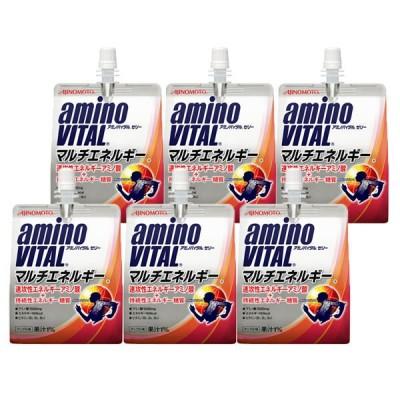 味の素アミノバイタルゼリー マルチエネルギー 180g 6個 1セット 味の素 アミノ酸ゼリー