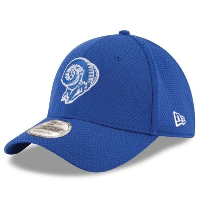 ニューエラ メンズ 帽子 アクセサリー Los Angeles Rams New Era Sideline Tech 39THIRTY Flex Hat