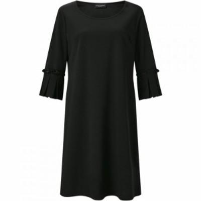 ジュームズ レイクランド James Lakeland レディース ワンピース ワンピース・ドレス PLEATED CUFF DRESS Black