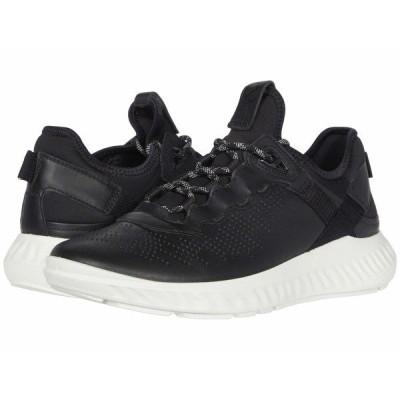 エコー スニーカー シューズ メンズ ST.1 Lite Sneaker Black