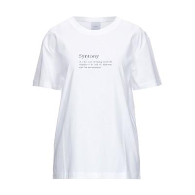 ジャンパトゥ PATOU T シャツ ホワイト XS コットン 100% T シャツ