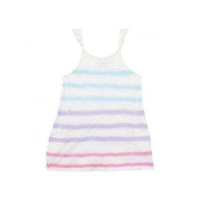 Splendid Littles スプレンデッド 女の子用 ファッション 子供服 ドレス Multi Tie-Dye Dress (Toddler/Little Kids) - Optic White