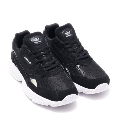 アディダス adidas Originals スニーカー オリジナルス ファルコンW (CORE BLACK/CORE BLACK/RUNNING WHITE) 19SS-I