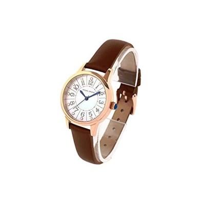 [マウロジェラルディ] 腕時計 ソーラー 3針 MJ060-1 レディース ブラウン