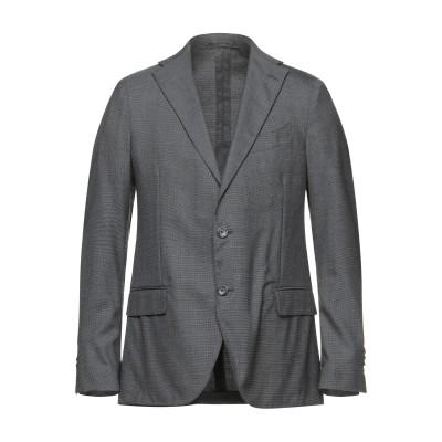 ラルディーニ LARDINI テーラードジャケット スチールグレー 50 ウール 95% / シルク 5% テーラードジャケット