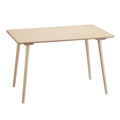 家具 収納 テーブル 机 ダイニングテーブル ウィンザーダイニングテーブル 長方形ダイニングテーブル 幅約120cm×80cm[チェコ・TON社] H03515