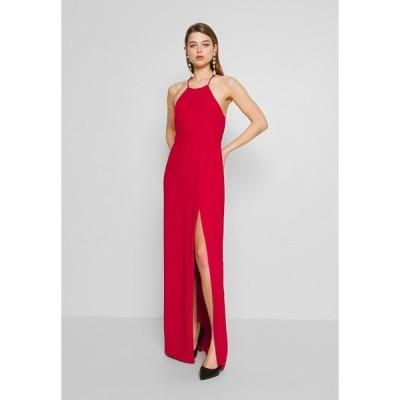 ニリーバイネリー ワンピース レディース トップス STRAP BACK GOWN - Maxi dress - red