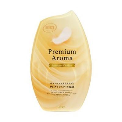 (まとめ)エステー お部屋の消臭力 PremiumAroma イノセントシフォン 400ml 1個〔×10セット〕