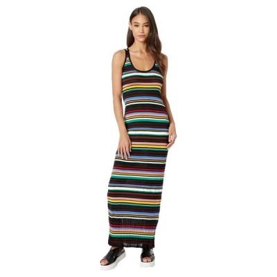 エム ミッソーニ レディース ワンピース トップス Striped Sleeveless Long Dress