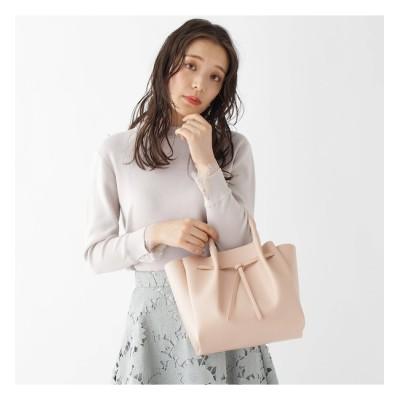 【AG バイアクアガール/AG by aquagirl】 【2WAY】リボンギャザーハンドバッグ