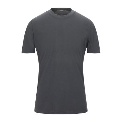 カングラ カシミア KANGRA CASHMERE T シャツ 鉛色 50 コットン 100% T シャツ