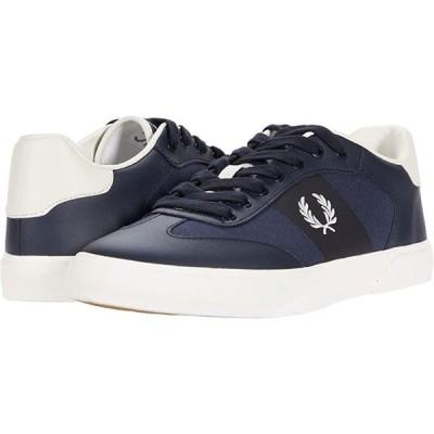 フレッドペリー Clay Leather Poly メンズ スニーカー 靴 シューズ Navy/Snow White