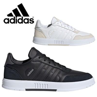 アディダス シューズ COURTMASTER M KYH50 メンズ FV8108 FW2890 靴 くつ スニーカー 黒靴 黒スニーカー ブラック 白靴 白スニーカー ホワイト