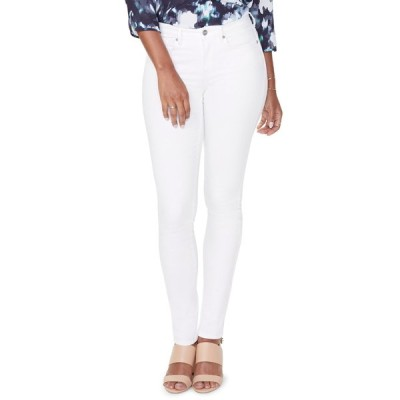 エヌワイディージェイ レディース デニムパンツ ボトムス Alina Legging Jeans OPTIC WHIT
