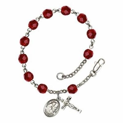 Bonyak Jewelry ブレスレット ジュエリー Bonyak Jewelry St. Mary Magdalene Silver Plate Rosary Bracel