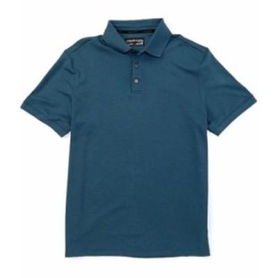 カルバンクライン メンズ シャツ トップス Liquid Touch Short-Sleeve Polo Shirt Stargazer