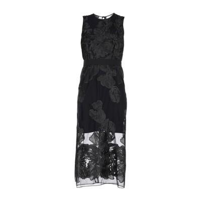 マルコ ボローニャ MARCO BOLOGNA 7分丈ワンピース・ドレス ブラック 40 ナイロン 100% 7分丈ワンピース・ドレス