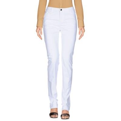 アルマーニ ジーンズ ARMANI JEANS パンツ ホワイト 28 コットン 81% / ポリエステル 15% / ポリウレタン 4% パンツ