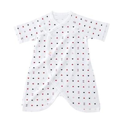 赤ちゃんの城-コンビ肌着-トリコロール-オフホワイト-ベビー-新生児-肌着-日本製-オールシーズン用