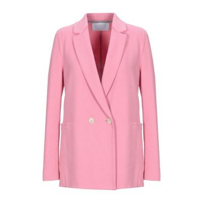 ハリス・ワーフ・ロンドン HARRIS WHARF LONDON テーラードジャケット ピンク 46 コットン 95% / ナイロン 4% / ポリ