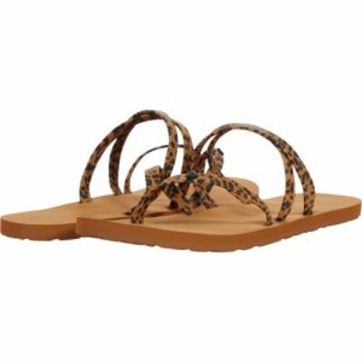 ボルコム Volcom レディース サンダル・ミュール シューズ・靴 Easy Breezy II Sandal Cheetah