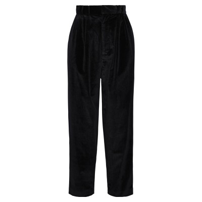 ローラン ムレ ROLAND MOURET パンツ ブラック 6 レーヨン 97% / ポリウレタン 3% パンツ