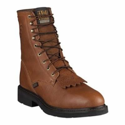 アリアト レインシューズ・長靴 Cascade 8 Steel Toe Boot Sunshine Wildcat Full Grain Leather