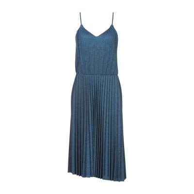 スーベニア SOUVENIR 7分丈ワンピース・ドレス ブルー S ポリエステル 100% 7分丈ワンピース・ドレス