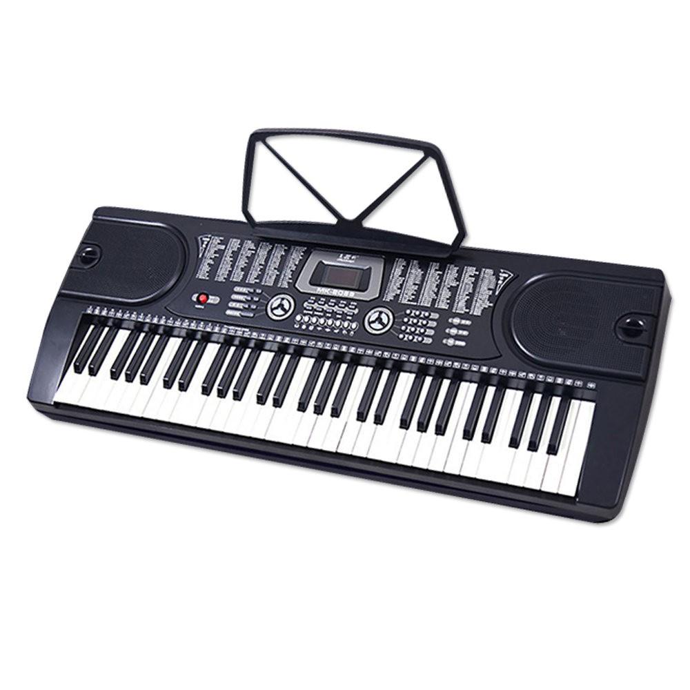【台灣Jazzy】輕便好收納,入門學習型電子琴 MK-2089 送11全配,麥克風彈唱,初學鋼琴