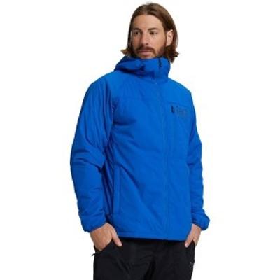 バートン メンズ ジャケット・ブルゾン アウター AK Helium Hooded Stretch Jacket Lapis Blue