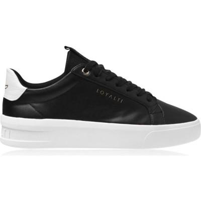 ロイヤリティ Loyalti メンズ スニーカー シューズ・靴 Firenze Trainers Black/White