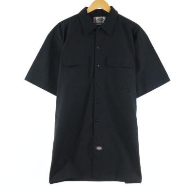 ディッキーズ Dickies 半袖 ワークシャツ メンズXL /eaa142499