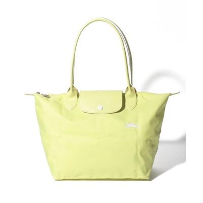【ロンシャン】 Le Pliage Club Sac Shopping S レディース イエロー系 F Longchamp