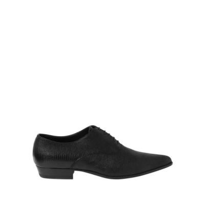 イヴ サンローラン SAINT LAURENT メンズ シューズ・靴 laced shoes Black