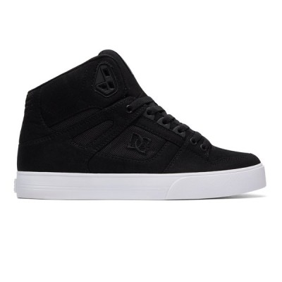 カジュアルシューズ ディーシーシューズ DC Shoes Men's Pure TX SE High-Top Shoes ADYS400046 BLACK/BLACK/WHITE